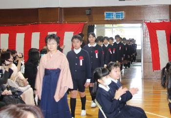 平成28年度 小学部卒業式:小学...